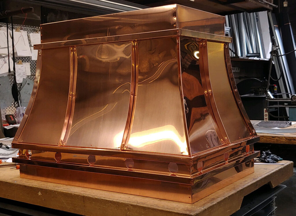 copper fireplace covers