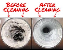 Dryer Vent Before/After