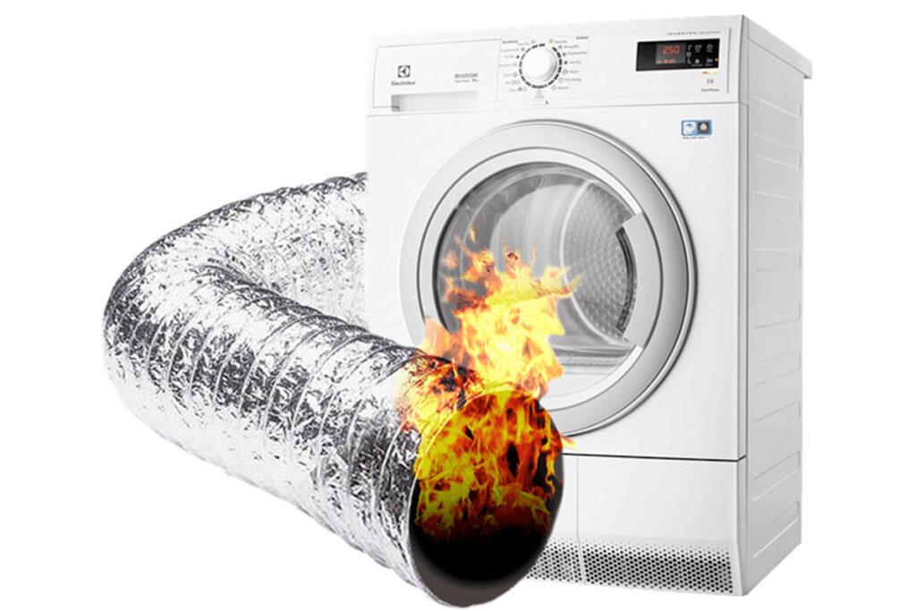Dryer Vent Fire